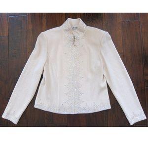 St. John Evening Knit Jacket With FREE Skirt